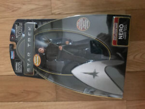 Star Trek figure NEW Nero, which is now rare collectors item
