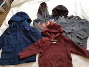 For kids 3 - 4 years, wool jacket, sweater
