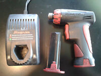 "Snap On Tools CTS561 1/4"" inch 7.2V Cordless Screwdriver snapon."