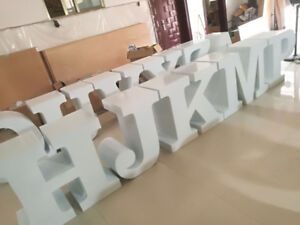 Marquee letters table and throne chairs, bride and groom chairs