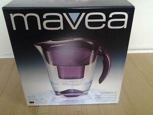 New Mavea Elemaris XL 9 cup Water Filtration Pitcher (NEW)