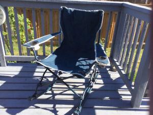 Easy Folding Rocker Chair