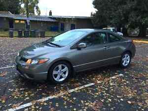 2006 Honda Civic LX Coupe (2 door) LOW KM NO ACCIDENTS
