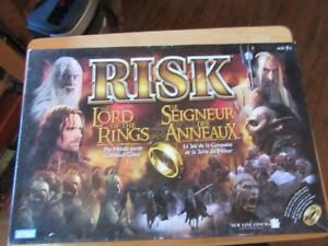 RISK - THE LORD OF THE RINGS (BOARD GAME)