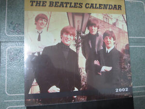 The Beatles Calendar--2002--Brand New Unopened