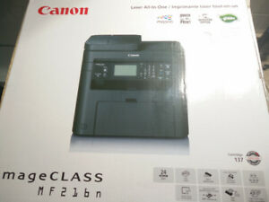 Canon imageClass Monochrome All-In-One Laser Printer - New!