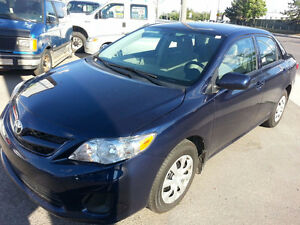 2011 Toyota Corolla 1-Owner Mint Condition $10990 (416)-858-7673