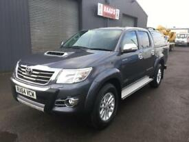 2014 (64) Toyota Hilux Icon 2.5D-4D Double Cab 4x4 Diesel Pickup Invincible Spec