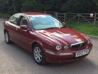 Jaguar X-TYPE petrol auto leather 1 year mot