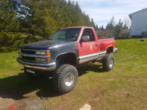 93 Chevy 4x4 5 speed trade for motorcycle