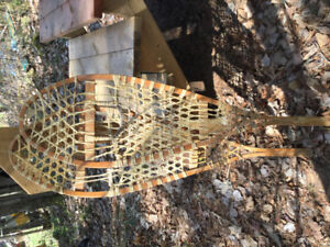 Wooden Snowshoes. No harness. Very good condition.