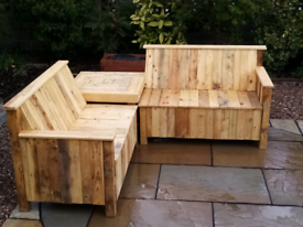 Garden Corner Seat (Brand New Made to Order) Special Offer!