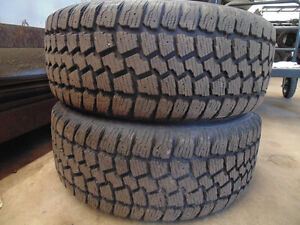 4 RIMS MERCEDES-BENZ WITH WINTER TIRES FOR SALE