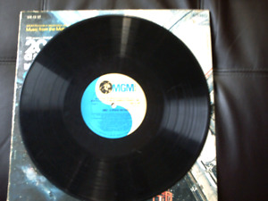 2001 A Space Odyssey Original Motion Picture Soundtrack on vinyl