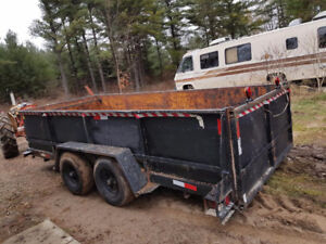 Heavy Duty Tandem Trailer for Sale.