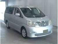 2008 !!! TOYOTA ALPHARD CAMPER VAN,MOTORHOME,4 BERTH,~~~BEST UK PRICE~~~~~2008