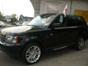 2009 Land Rover Range Rover Sport SUPERCHARGED SUV, Crossover