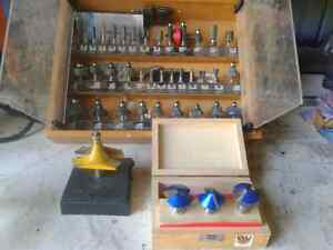 Various Router Bits $200