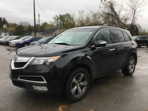 2011 ACURA MDX AWD * LEATHER * SUNROOF * REAR CAM * NAV * DVD *  London Ontario image 2