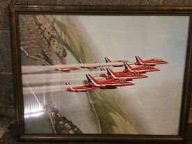 Framed Coulson Red Arrows print