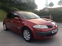**BARGAIN PRICE+£30 TAX FOR 1 YEAR+RENAULT MEGANE DYNAMIQUE DCI 1.5 DIESEL (2006 YEAR)**