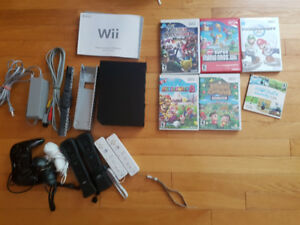 Nintendo WII bundle with great titles