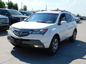 2007 Acura MDX*4WD*TECH PACKAGE*7 PASSENGER*DVD