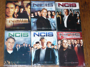 NCIS DVDs Season 1 - 6 (2-6 new)