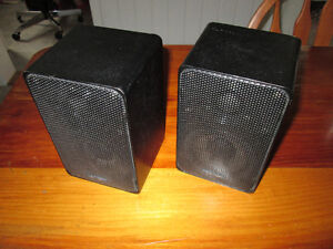 Realistic Minimus 7 speakers