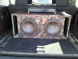 MB quart subs/amp