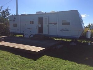 TRAVEL TRAILER ON PRIVATE LOT FOR RENT