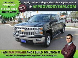 SILVERADO - APPLY WHEN READY TO BUY @ APPROVEDBYSAM.COM