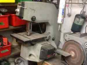 "Bandsaw 10"" throat, hobby saw, bench mounted"