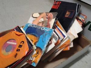 45rpm vinyl records in very good condition for sale
