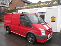 2011 11 FORD TRANSIT SPORT RS !! ONLY 45.000 MILES !! ONE OWNER RED AIR