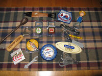 Collection of Vintage Beer bottle openers etc.