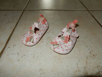 Girl Pink Slip on Shoes