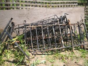 7 METAL/IRON  RAILING pieces---$35 EACH