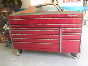 "73"" snap on tool box"