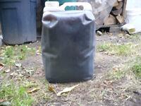 À donner: Huile à chauffage (fond de réservoir)