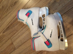 Girls Bauer Skates