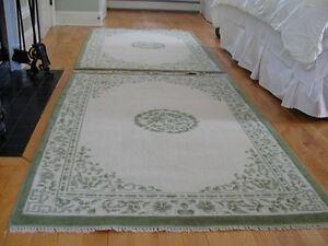 Carpet 100% Virgin wool Pile 5 x 7