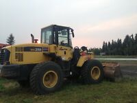 Komatsu 250 Loader,Zoom Boom, Manlift, Tamper for sale-MUST SELL