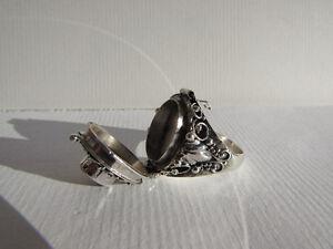 Sterling Silver Garnet Poison Ring Gatineau Ottawa / Gatineau Area image 5