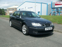 Saab 9-3 1.8t 2006MY Vector Sport WITH 6 SERVICE STAMPS