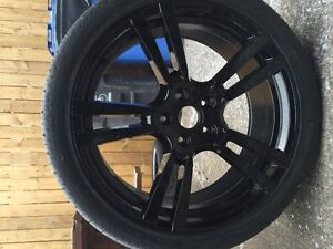 """PORSCHE CAYENNE 22"""" TURBO REPLICAS, BRAND NEW WITH TIRES"""