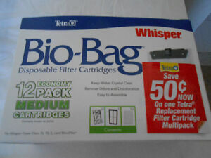 Tetra Bio-Bag Filters NEW PRICE