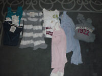 LOT OF HOLLISTER CLOTHES XS/S