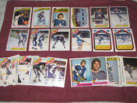 Toronto Maple Leafs cards from 1970s and 1980s