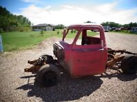 1955 Ford F-100 shortbox Project Truck S10 Frame